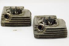 Moto Morini 350 3 1/2 - Zylinderkopf vorne + hinten