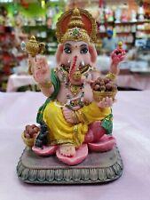 10x God Ganesha Ganpati Resin Statue 4.0 Inches Height return gifts USA Seller