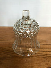 Beautiful Homco Diamond and Rimmed Cut Clear Votive Cup Candle Holder