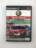 Alfa Romeo Racing Italiano - Playstation 2 PS2 Game - Complete & Tested