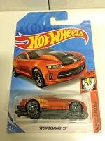 2019 Hot Wheels Chevy '18 COPO Camaro SS Muscle Mania Orange #71/250 NIP