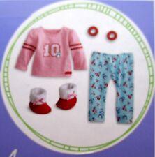 "American Girl 18"" Truely Me Doll Holiday Penguin Pjs Pajamas Slippers *NIB"
