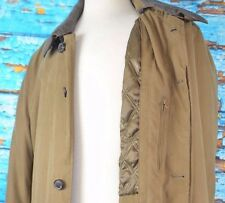 Johnston & Murphy Men's Barn Coat Size XL Removable Lining Over Coat Outdoor