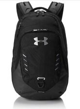 Under Armour Gameday Backpack School Bag Laptop 1316573 New Black Gray Pink UA