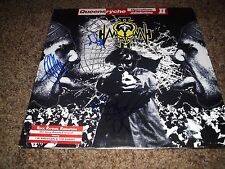 "QUEENSRYCHE SIGNED RECORD ""OPERATION MINDCRIME II "" RARE! 4 MEMBERS  L@@K PROOF"