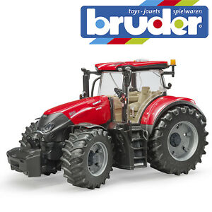Bruder Case IH Optum 300 CVX Tractor Kids Farming Toy Farm Model Scale 1:16