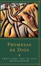 Promeses de Dios : Para Cada una de Sus Necesidades by Word Books Publisher...