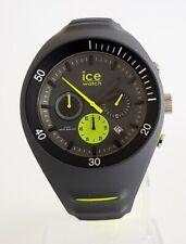 Ice-Watch 014946 P. Leclercq ANTHRACITE L Ø 46 Uhr Chronograph Chrono grau 77