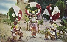 mexico, OAXACA, Oax., Danzantes de la Pluma, Plume Dance (1930s)