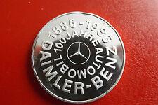 *Selten! Silbermedaille ca.25gr.(1000)* Daimler-Benz*100 J.Automobil (Schub.2)