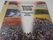 BROKEN SOCIAL SCENE - FORGIVENESS ROCK RECORD - 2010 CD ALBUM - NEU!