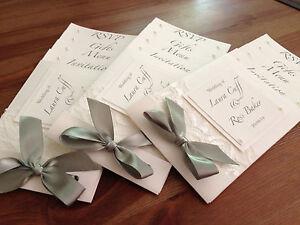 New Cheque book Design Wedding/Evening Invitation! Bespoke designs x 50
