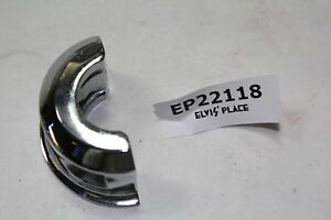 Harley handlebar clamp Road King half moon chrome FXR Softail Dyna XL EP22118