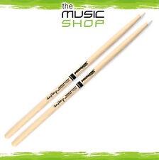 New Set of Promark Hickory 420 Mike Portnoy Drumsticks with Nylon Tips - TX420N