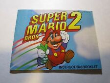 Super Mario Bros. 2 - NES Instruction Booklet Manual Only