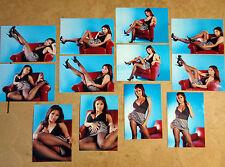 SET OF 12 4X6 PHOTOS OF ASIANS IMPORT CAR MODEL KAI LANSANGAN AKA XENA KAI B-13