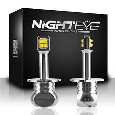Paar NIGHTEYE LED H1 80W Nebel Licht Birne Lampe Nebelscheinwerfer Tagfahrlicht