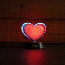 Official The Legend of Zelda 3D Heart Container Night Light Mini Lamp - Boxed