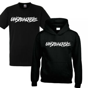 Unspeakable Kids Hoodie Gaming Youtuber Gamer Boys Girls Prank Gift Hooded
