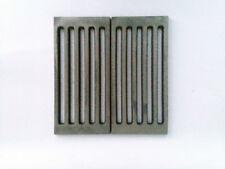 Fondello,Griglia,Cenere,fuoco,ghisa,camino,legna,BBQ 30x30 cm LB-GCR300300/2