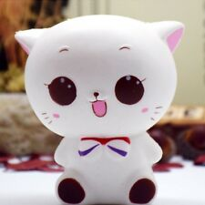 Slow Rising KAWAII Squishy Squeeze Toys Jumbo Squishies Scented Stress Relief White Cat