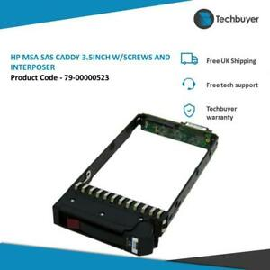 "HP MSA2000 COMPATIBLE SAS CADDY 3.5"" W/SCREWS AND INTERPOSER -  79-00000523"
