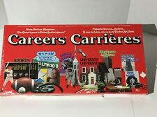 Vintage Careers board game Canadian Version English/French 1979 New Sealed A 620