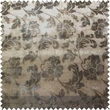 Telas y tejidos color principal marrón de terciopelo 117-150 cm