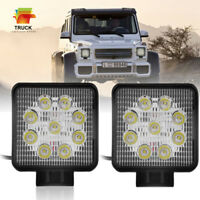 2x 4 inch LED Work Light Bar Flood Beam Off road 4WD Jeep Driving Fog Lamp Pods