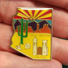 VFW Pin - DEPT Arizona VFW - Veteran of Foreign Wars Department of Arizona Pin
