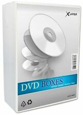20 Xlayer DVD Hüllen Slim 2er Box 7 mm für je 2 BD / CD / DVD transparent