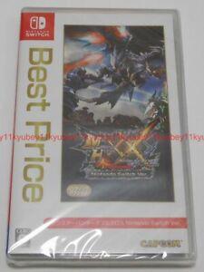 Nintendo Switch Monster Hunter XX Double Cross Best Price Japan 4976219099240