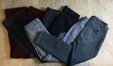 Ann Taylor Blue Jeans Pants Liz Claiborne Cato Women Size 7/8, 29/31/32 Lot Of 5