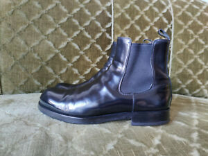 Jil Sander patent leather Chelsea Boots, Gr. 6,5, EU 40