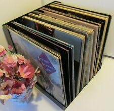 "12"" / LP Vinyl Record Rack, L-shape - 40 LPs (2 Units)"