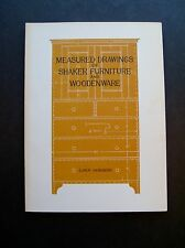 Measured Drawings Of Shaker Furniture And Woodenware by Ejner Handberg