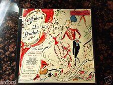 OFFENBACH LA PERICHOLE OPERA  MUSIC ORCHESTRA CLASSIC BoxSet 1 Vinyl Disc RECORD