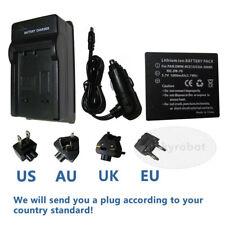 Batería de Cámara + Cargador Para Panasonic Lumix Sdr-s7s, Sdr-s7k Dmc-fx33 Dmc-fs5