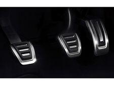 Audi  A1 8X A3 8V TT 8S Edelstahl Pedalkappen Edelstahl Set 8V1064200