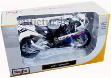 Maisto 31151 2011 2012 Bmw S1000RR S 1000 RR Bike 1:12 Diecast White