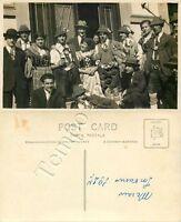 Cartolina di Merano (Meran), costumi tradizionali - Bolzano, 1927