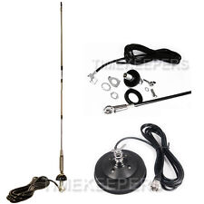 4.75 Pies 17.8cm magnético soporte antena Kit con 3.6m Rg58 Cable para Radios CB
