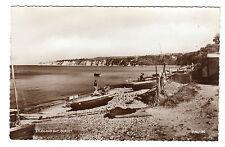 Studland Bay - Real Photo Postcard c1950 / Poole