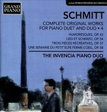 Schmitt: Complete Works For Piano Duet & Duo, Vol. 4, New Music