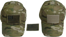 Special Force Tactical CAP HAT w/ US Flag--MultiCam