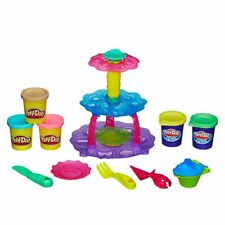 Play-Doh Cupcake Tower Includes 3 Pots Of Play-Doh & 2 Pots Of Play-Doh Plus
