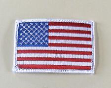 American Flag Biker patch