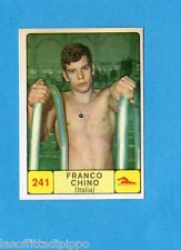 CAMPIONI d. SPORT 1968/69-PANINI-Figurina n.241- CHINO -ITALIA-NUOTO-Rec