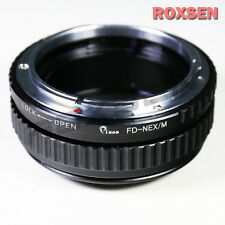 Canon FD lens to Sony E mount adapter Macro Focusing Helicoid NEX-6 A6000 A6300