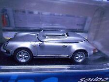 PORSCHE 911 Carrera Speedster 3.2 silber 1983 Solido Rarität 1:43